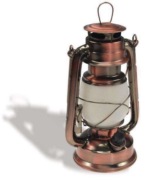 """LED Petroleum-Laterne """"CT-CL Copper"""", dimmbar, Batteriebetrieb, Kupfer"""