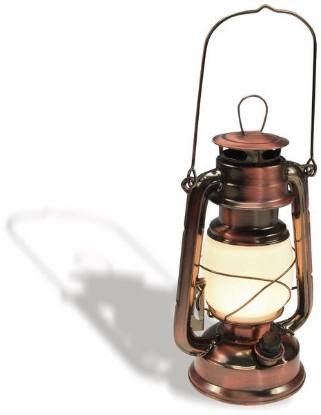 "LED Petroleum-Laterne ""CT-CL Copper"", dimmbar, Batteriebetrieb, Kupfer - Produktbild 2"