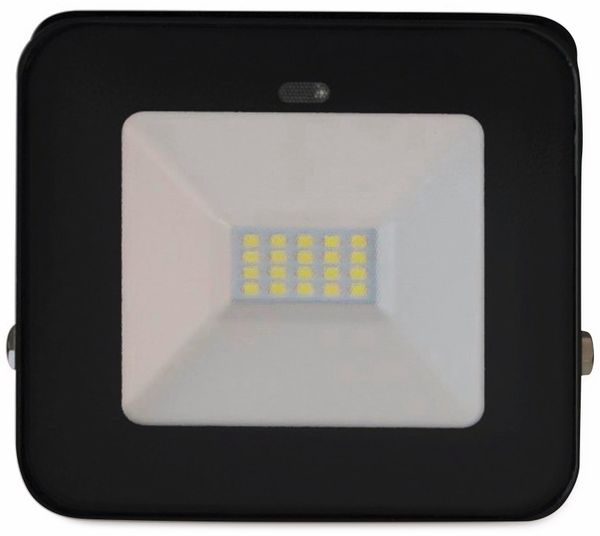 LED-Fluter, Bewegungsmelder MÜLLER LICHT John Sensor 21600010, 20 W, 6500K, IP65, schwarz