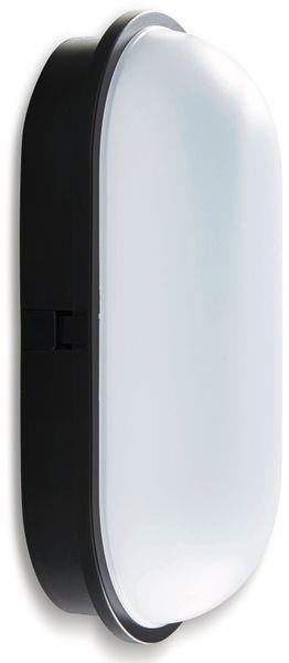 LED-Oval Leuchte TOLEDO, 20 W, 1600 lm, 4000 K, IP 65, schwarz