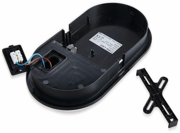 LED-Oval Leuchte TOLEDO, 20 W, 1600 lm, 4000 K, IP 65, schwarz - Produktbild 3