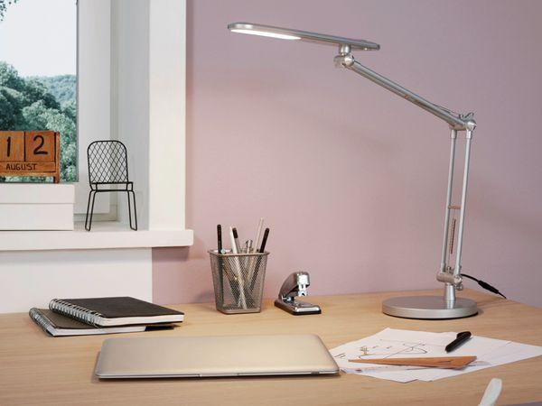 LED-Schreibtischleuchte TORNOS 97022, 5,5 W, 450lm, 3000K, ,230V~, grau/chrom - Produktbild 2