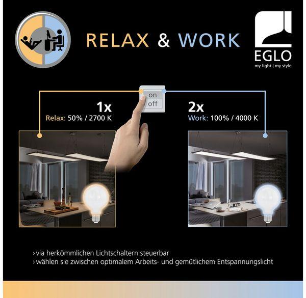 LED-Wand und Deckenleuchte, GIRON-RW 97105, 24 W, 2400 lm, 2700/4000 K, 390 mm - Produktbild 4