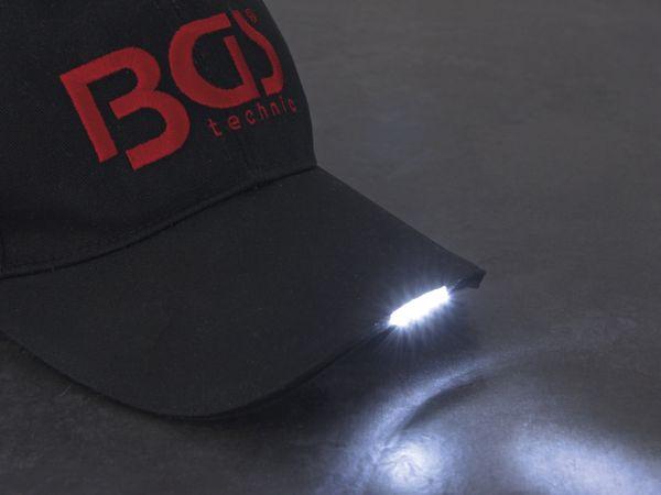 LED-Schirmmütze BGS 9897, anthrazit - Produktbild 3