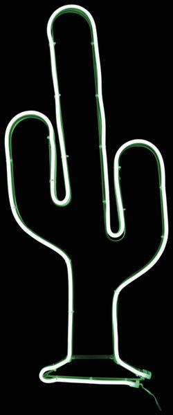 LED-2D Wanddekoration, Kaktus, 4W