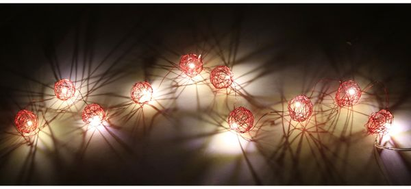 LED-Tischdekoration, GT-RLCR-01ww, 10 LED, warmweiß - Produktbild 2