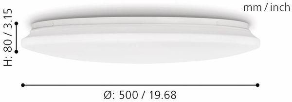 LED-Deckenleuchte EGLO POGLIOLA, 36W, 3350 lm, 3000K, 490 mm - Produktbild 7