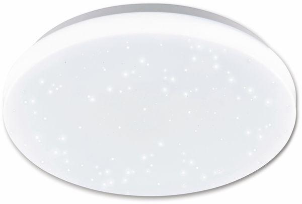 LED-Deckenleuchte EGLO POGLIOLA-S, 12W, 1300 lm, 4000K, 240 mm, Kristalleffekt