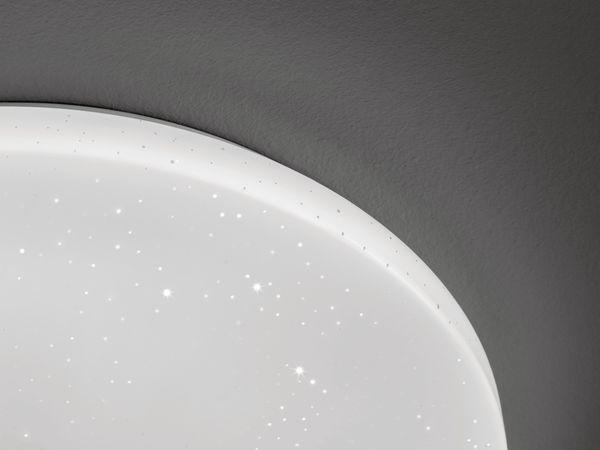 LED-Deckenleuchte EGLO POGLIOLA-S, 12W, 1300 lm, 4000K, 240 mm, Kristalleffekt - Produktbild 3