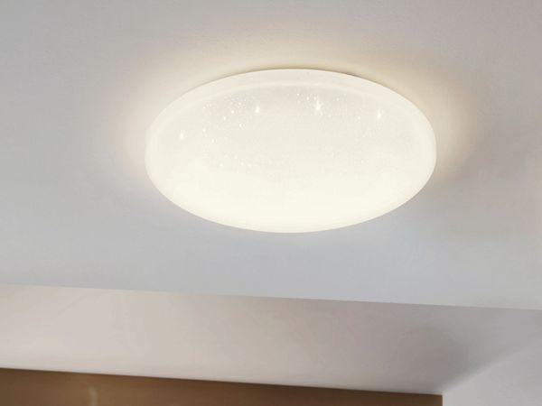 LED-Deckenleuchte EGLO POGLIOLA-S, 12W, 1300 lm, 4000K, 240 mm, Kristalleffekt - Produktbild 5