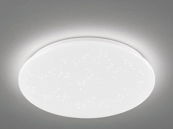 LED-Deckenleuchte EGLO POGLIOLA-S, 36W, 3550 lm, 4000K, 490 mm, Kristalleffekt - Produktbild 2