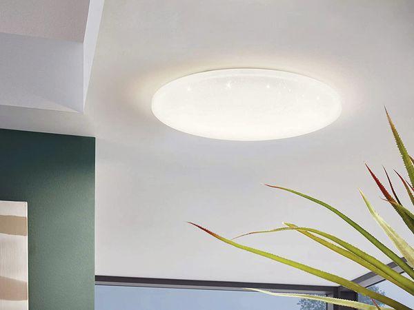 LED-Deckenleuchte EGLO POGLIOLA-S, 36W, 3550 lm, 4000K, 490 mm, Kristalleffekt - Produktbild 4