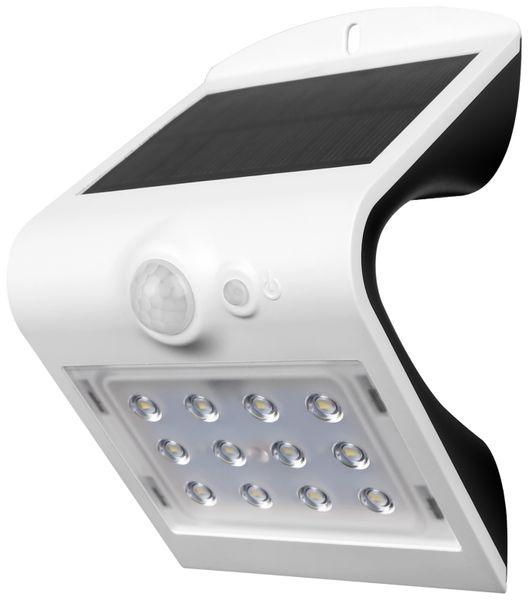 Solar-LED Wandleuchte BLULAXA 48552 mit Sensor, 1,5W, weiß