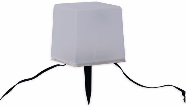 Solar-Bodenlichterkette, 5 Würfel, RGB+WW, Bastelware - Produktbild 2