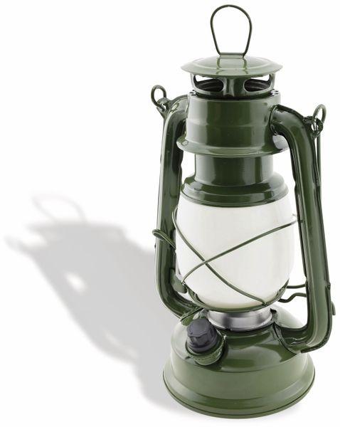"LED Petroleum-Laterne ""CT-CL Army"", dimmbar, Batteriebetrieb, grün"