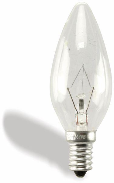 Kerzenlampe, 130 V/40 W, klar