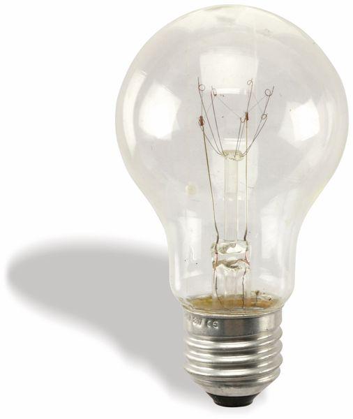 Spezial-Glühlampe, E27, 235 V/8 W, klar