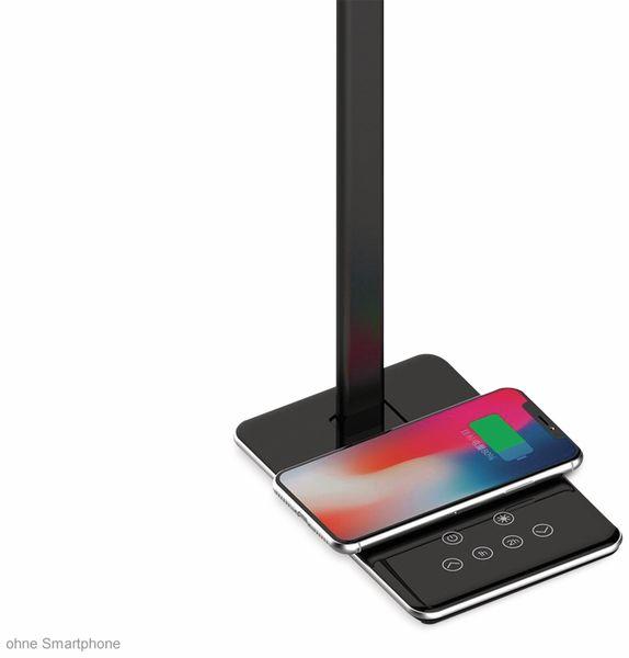 LED-Schreibtischleuchte VT-7405 5W, Wireless Lader,2700K-6500K, schwarz, 5V-, dimmbar - Produktbild 4