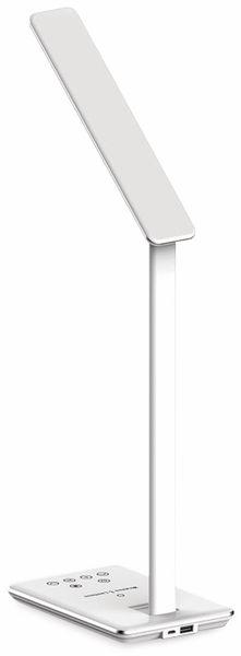 LED-Schreibtischleuchte VT-7405 5W, Wireless Lader,2700K-6500K, weiß, 5V-, dimmbar - Produktbild 2