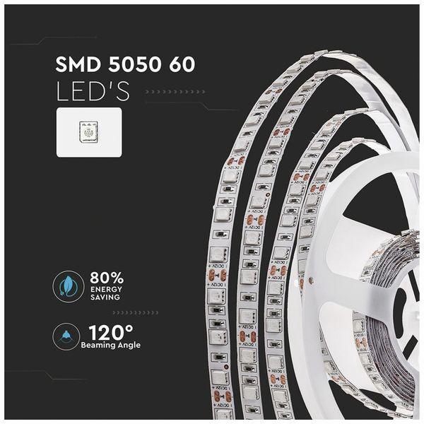 LED-Strip VT-5050 (2122), 300 LEDs, 5 m, 12V, 3000 K - Produktbild 6