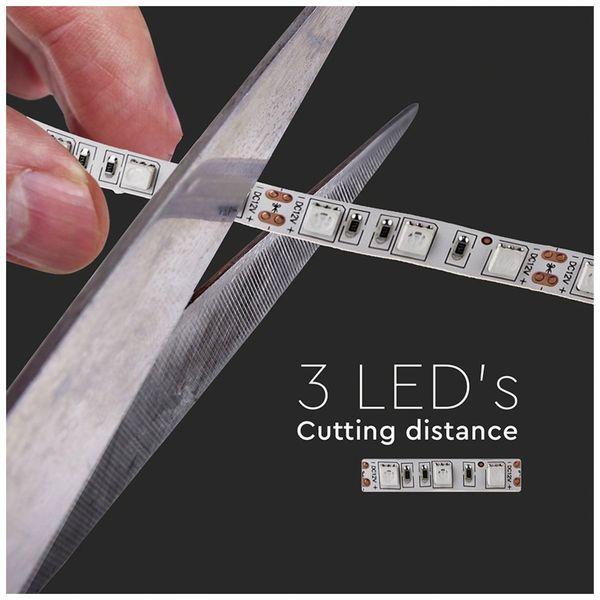 LED-Strip VT-5050 (2122), 300 LEDs, 5 m, 12V, 3000 K - Produktbild 7