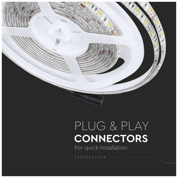 LED-Strip VT-5050 (2149), 300 LEDs, 5 m, 12V, IP 65, 3000 K - Produktbild 6