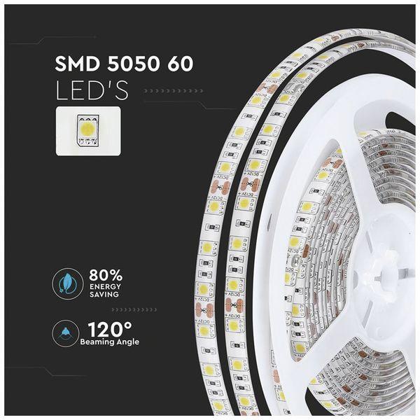 LED-Strip VT-5050 (2149), 300 LEDs, 5 m, 12V, IP 65, 3000 K - Produktbild 9
