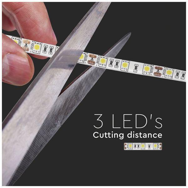 LED-Strip VT-5050 (2149), 300 LEDs, 5 m, 12V, IP 65, 3000 K - Produktbild 10