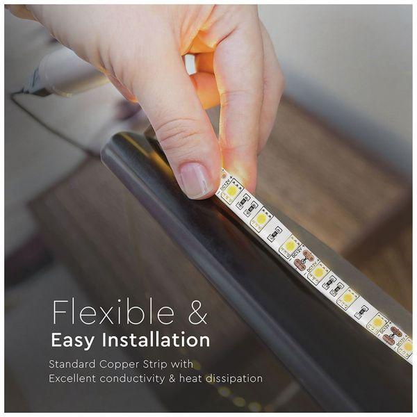 LED-Strip VT-5050 (2150), 300 LEDs, 5 m, 12V, IP 65, 4500 K - Produktbild 8