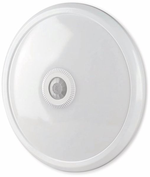 LED-Deckenleuchte VT-13(807), 12 W, 800 lm, 3000K, Bewegungsmelder, weiß