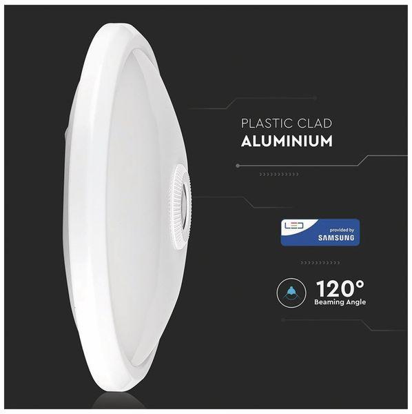 LED-Deckenleuchte VT-13(807), 12 W, 800 lm, 3000K, Bewegungsmelder, weiß - Produktbild 2
