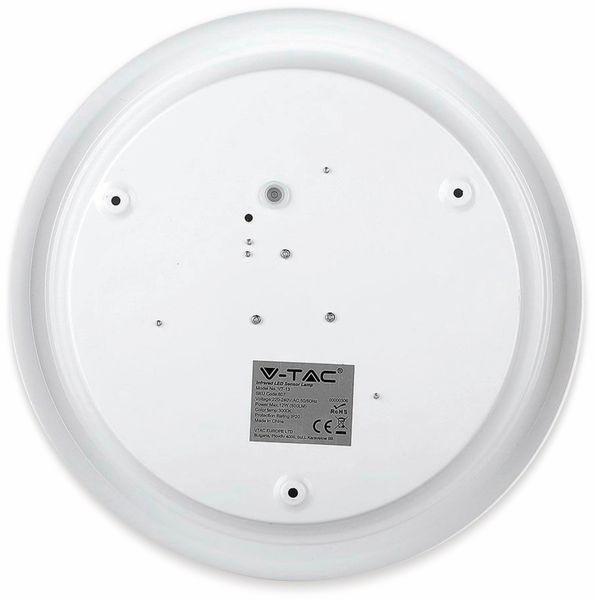 LED-Deckenleuchte VT-13(807), 12 W, 800 lm, 3000K, Bewegungsmelder, weiß - Produktbild 8