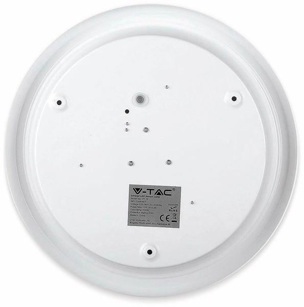 LED-Deckenleuchte VT-13(808), 12 W, 800 lm, 4000K, Bewegungsmelder, weiß - Produktbild 8