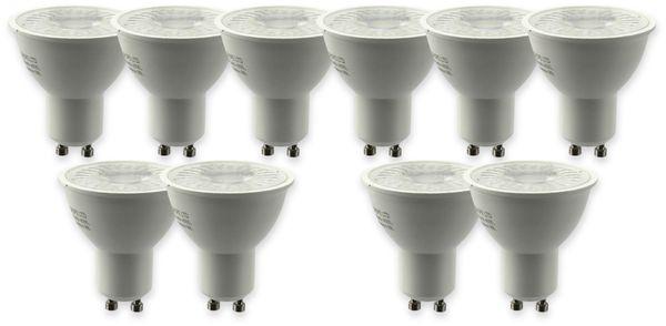 LED-Lampe, V-TAC, VT-2305, GU10, 5W, 3000k, 380lm, 10 Stück