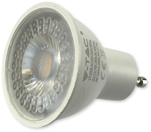LED-Lampe, V-TAC, VT-2305, GU10, 5W, 3000k, 380lm, 10 Stück - Produktbild 3