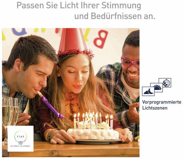 LED-Lampe TINT, E27, 10 W, 806 lm, EEK A+, Birne, RGB - Produktbild 8