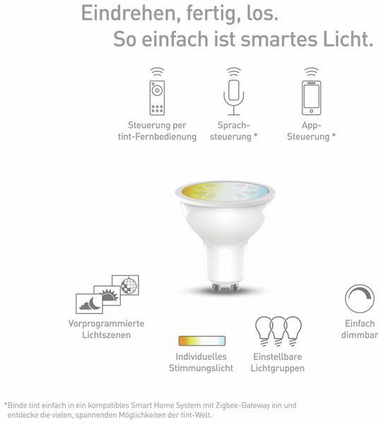 LED-Lampe TINT, GU10, 5 W, 350 lm, EEK A+, Reflektor, WW/NW - Produktbild 3