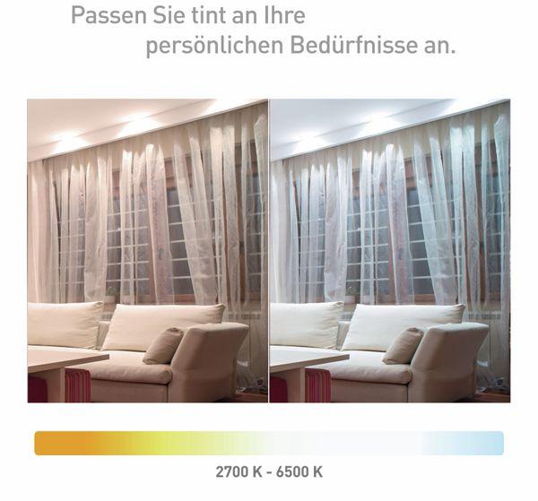 LED-Lampe TINT, GU10, 5 W, 350 lm, EEK A+, Reflektor, WW/NW - Produktbild 5