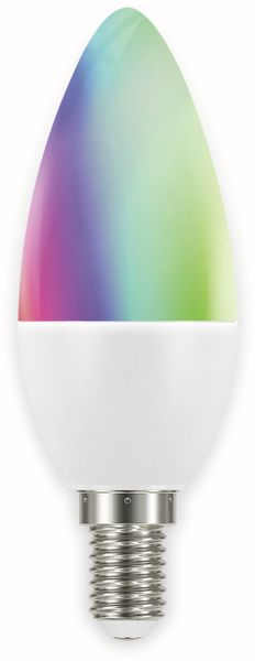 LED-Lampe MÜLLER LICHT TINT, E14, 6 W, 470 lm, EEK A+, Kerze, RGB