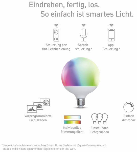 LED-Lampe MÜLLER LICHT TINT, E27, 15 W, 1520 lm, EEK A+, Globe, RGB - Produktbild 3