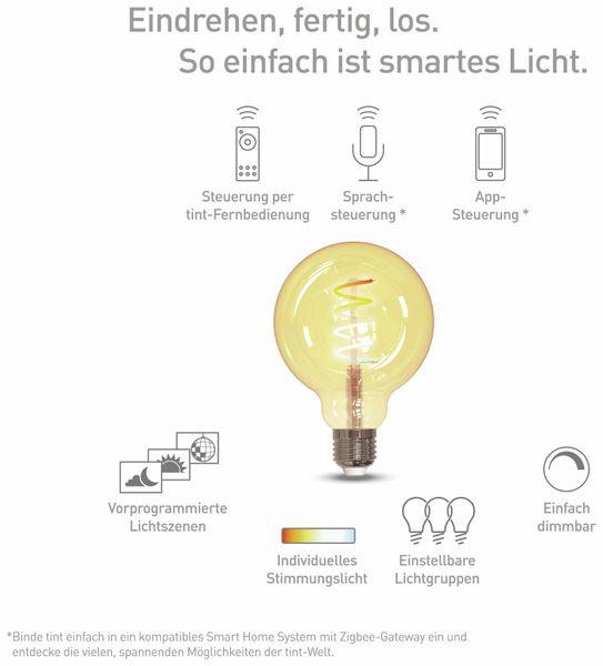 LED-Lampe TINT, E27, 5,5 W, 380 lm, EEK A+, G95, RGB - Produktbild 2