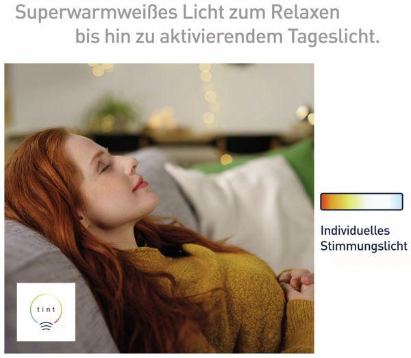 LED-Lampe TINT, E27, 5,5 W, 380 lm, EEK A+, G95, RGB - Produktbild 5
