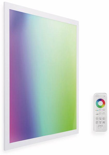 LED-Panel MÜLLER LICHT TINT Loris, 45x45 cm, 1800 lm, 30 W, RGB, inkl. FB