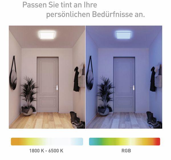 LED-Panel MÜLLER LICHT TINT Loris, 45x45 cm, 1800 lm, 30 W, RGB, inkl. FB - Produktbild 6