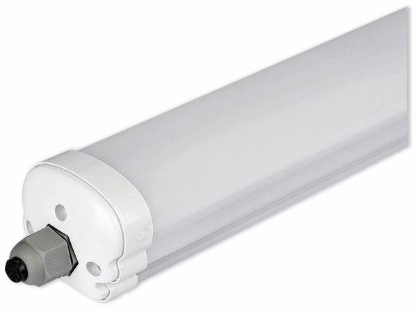 LED-Feuchtraum-Wannenleuchte, VT-6076 (6283) EEK: A+, 18 W, 60 cm, 4000K