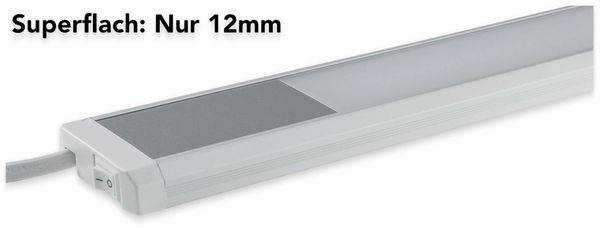 LED-Unterbauleuchte CHILITEC Comprido 600, 3000K, 10 W, 230 V - Produktbild 3