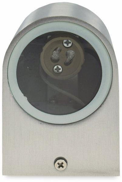Wandleuchte CHILITEC CTW-1, IP44, GU10, Edelstahl - Produktbild 4