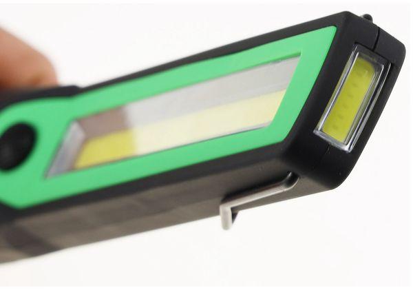 LED Taschenlampe CHILITEC CAL-COB 300, 300 lm, Haken, Magnetfuß - Produktbild 5