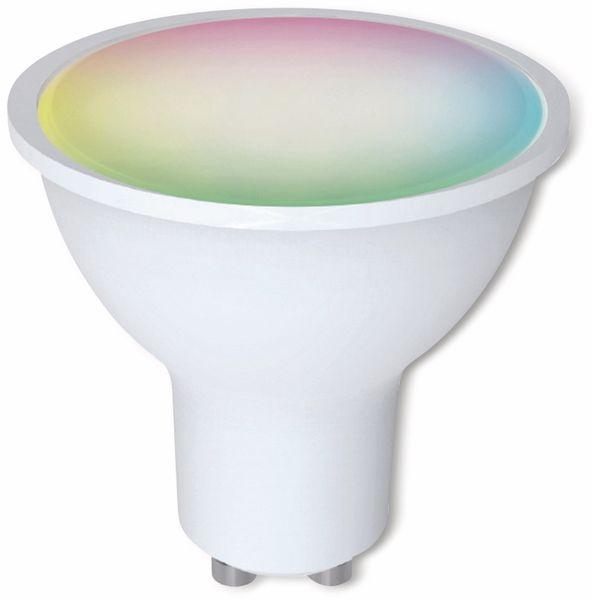 LED-Lampe DENVER SHL-450, 3 Stück, GU10, 300 lm, EEK A+, Reflektor, RGB