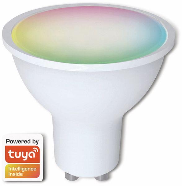 LED-Lampe DENVER SHL-450, 3 Stück, GU10, 300 lm, EEK A+, Reflektor, RGB - Produktbild 2
